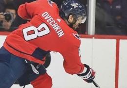 Россиянин Овечкин показал самый сильный бросок в мастер-шоу звезд НХЛ