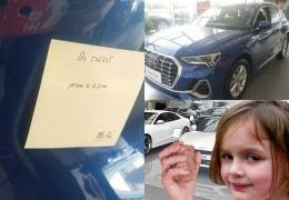 Трехлетняя китаянка повредила в автосалоне Audi 10 машин на 1,8 миллиона рублей