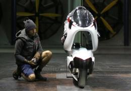 White Motorcycle Concepts WMC250EV — этот электрический мотоцикл должен разогнаться больше 400 км/ч