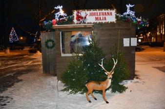 В Нарве откроется Рождественская аллея