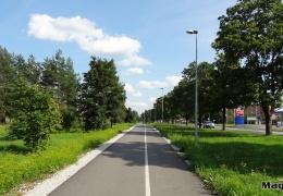 Ида-Вируские самоуправления не могут договориться о строительстве велосипедных дорожек между Нарвой и Нарва-Йыэсуу