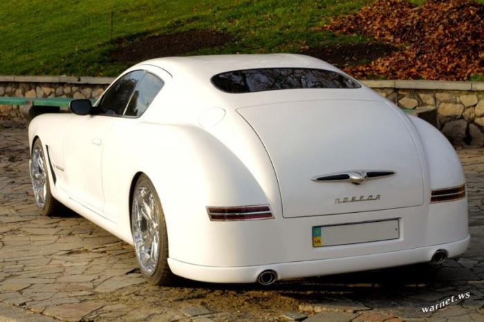 Победа в стиле Bugatti Galibier