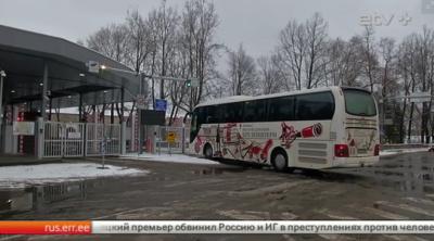 Нарвский погранпункт 16 февраля будет закрыт на четыре часа