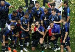 ЧМ-2018: Франция, переиграв в финале Хорватию, спустя 20 лет вновь стала чемпионом мира
