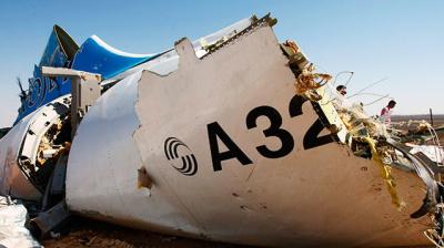 Родственники погибших в авиакатастрофе над Синаем подали иск в суд почти на 1,4 млрд евро