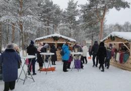 """В Нарве открылась """"рождественская деревня"""" cеверных стран"""