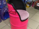 Самодельное и необычное кресло из бочки