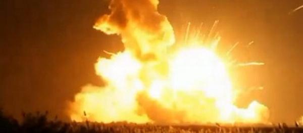 Видео. Ракета Antares взорвалась при старте