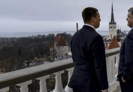 Премьер-министр Эстонии успокоил Порошенко: «Украина не одинока»
