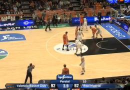 Невероятная концовка баскетбольного матча