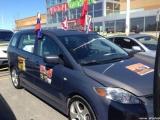 В Канаде устроили автопробег в честь 70-летия Победы
