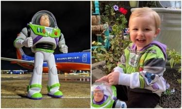 Малыш оставил в самолете игрушку - но та попала в руки очень креативного бортпроводника