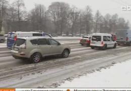 Из-за гололеда в Эстонии произошло более 120 аварий