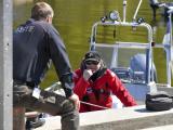 Очистку Нарвского залива от нефтепродуктов затрудняет наличие неразорвавшихся мин и торпед
