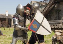 Рыцари из Петербурга окунули нарвитян в средневековье