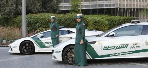 Женщины-полицейские из Дубаи самые быстрые в мире