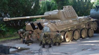 В Германии оштрафовали пенсионера, который хранил на своем участке танк времен Второй мировой войны