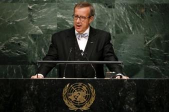 Ильвес прокомментировал выступление Путина на Генассамблее ООН