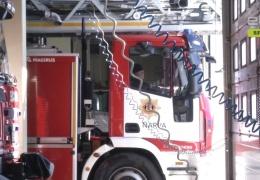 В Нарве подожгли бывшее здание инфекционной больницы