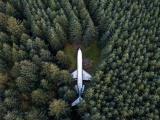 Американец живет в лесу в купленном за $220 000 старом Boeing