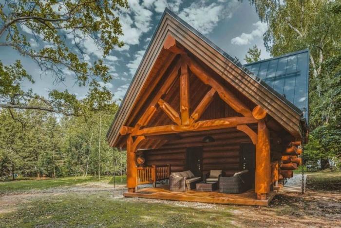 Кедровый дом с баней в России