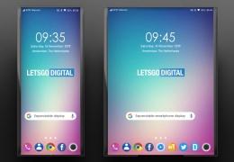 У растягивающегося смартфона LG удваивается площадь дисплея