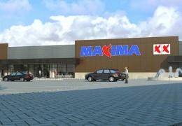Maxima хочет приступить к строительству торгового центра в Силламяэ в феврале