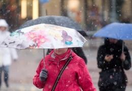 Зима не хочет отступать: во вторник возможен мокрый снег