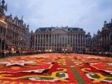 Ковер из живых цветов в Брюсселе