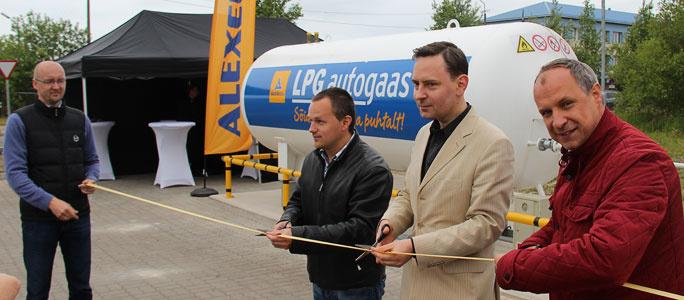 В Нарве открыли первую заправку сжиженного газа