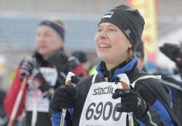 Президент Эстонии приняла участие в лыжном марафоне Finlandia-hiihto