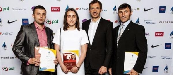 Олимпийский комитет наградил сумоистов из Нарвы