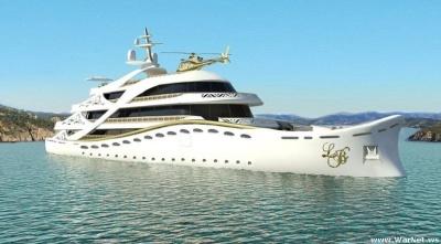 Роскошная яхта для женщин-миллионеров от Лидии Берсани