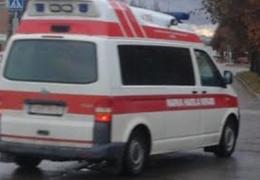 В Нарве водитель не уступил дорогу: двое в больнице
