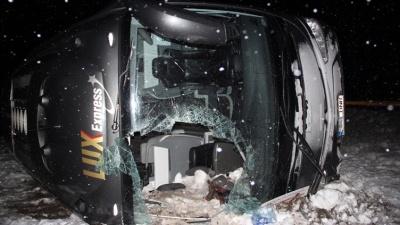 Прокуратура больше года продолжает расследование аварий с участием автобусов Lux Express в Ида-Вирумаа