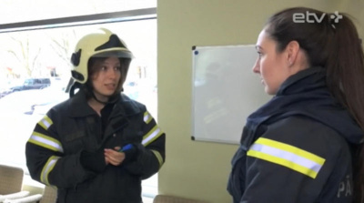 А вы знаете как по каске узнать на пожаре самого главного или как выглядит спасательная химическая машина?