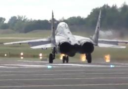 Вертикальный взлет МиГ-29