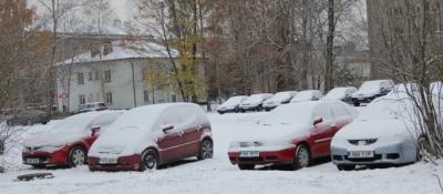 Зима подкралась незаметно…Как всегда