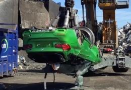Универсал BMW M3 уничтожен полицией Великобритании, поскольку был построен из деталей от краденных автомобилей