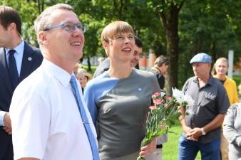 В Нарве можно будет увидеть торжественную церемонию приветствия президентом новых послов
