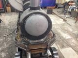 Оригинальный мангал в виде паровоза