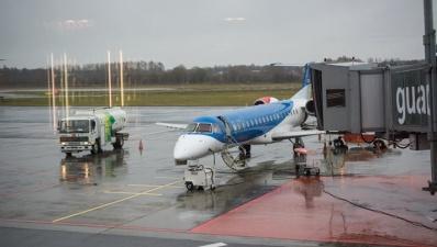 На лобовом стекле направлявшегося из Таллинна в Киев самолета возникла трещина
