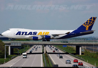 Самолеты над трассой