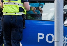 20-летний житель Пярну искусал полицейского при задержании