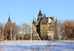 Замок Гарибальди в селе Хрящевка