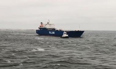 Судно компании Tallink оказалось обесточенным в Балтийском море