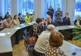 В Нарвском горсобрании фракция Алексея Воронова пополнилась еще одним человеком