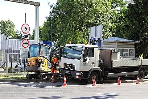 Строительство погранпункта изменит маршруты пешеходов и транспорта