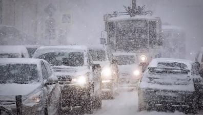 Потепление не придет одно: начиная с четверга в Эстонии пойдут затяжные снегопады