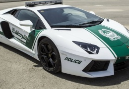 Lamborghini для патрулирования Дубая
